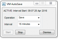 Aveva PDMS Auto Save Function Menu