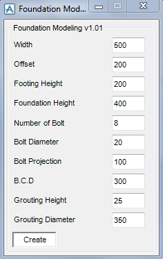 Foundation Modeling Picture Menu