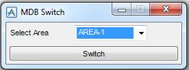 PDMS Macro MDB Switch menu