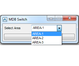 PDMS Macro MDB Switch selection