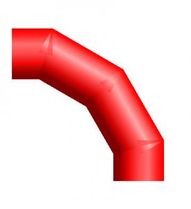 PDMS Macro Miter Elbows