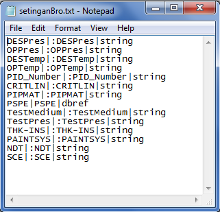 PDMS Macro set Linelist data to Attribute of Pipe Setting