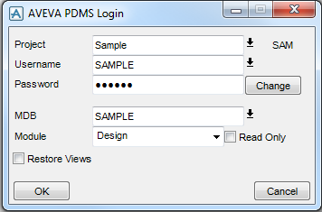 Direct Login PDMS without enter the User Password