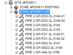 Export 3D PDMS to STP File CAD hierarchy