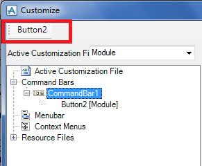 Make a New Keyboard Shortcuts in AVEVA PDMS Custom button