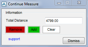 PDMS Macro Continuous Measurement Tools