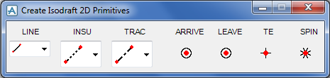 pdms-create-isodraft-2d-primitives
