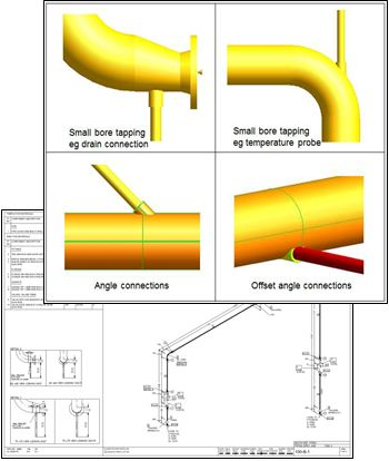 Aveva PDMS 12.1.SP4 Pipe Connections