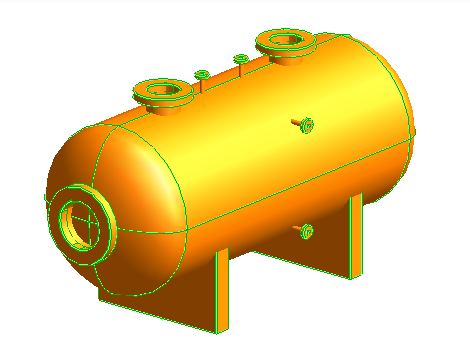 How to create 3D Primitive PDMS Horizontal Vessel easily ? PDMS macro with tutorial to create 3D primitive Horizontal Vessel This macro is made from PML Language and be designed to create horizontal vessel in 3D (PDMS) easily with input design parameter only, see horizontal vessel modeling picture in this post below. Why should we use PDMS Macro Horizontal Vessel Modeling ? Create a simple 3D model Horizontal Vessel quickly. Reduce time to creating 3D primitive that not efficient in 3D design phase. No need PDMS Training about 3D Primitive. Easy to use, no need to setting from PDMS admin side just drag / drop file or command macro file to show the menu. Include PDMS training manual pdf about how to setting this macro. below is the view of PDMS Macro Horizontal Vessel Modeling v1.01 and how to use PDMS macro tutorial